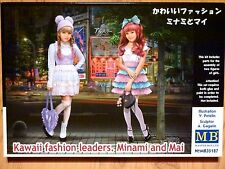 Masterbox 1:35 Minami And Mai Kawaii Fashion Figures Model Kit
