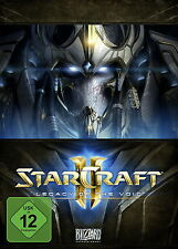 PC StarCraft 2 II: Legacy Of The Void DVD Spiel Box Set Star Craft Neu & OVP