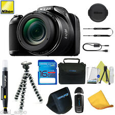 NIKON COOLPIX L340 20MP Digital Camera 28x Zoom + 16GB I3ePro Starter Bundle