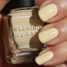NEW! Deborah Lippmann BUILD ME UP BUTTERCUP Polish Lacquer - full size Yellow