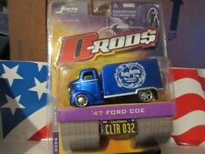 JADA D-ROD$  Blue '47 FORD COE CUSTOM VAN  D RODS ford mo co  2006  WAVE 3 NEW!