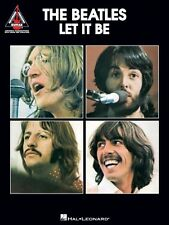 The Beatles Let It Be Sheet Music Guitar Tablature NEW 000690482