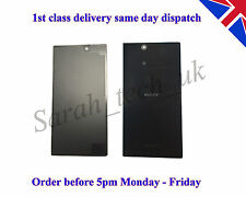 Sony Xperia Z ULTRA XL39H Battery back Cover Glass Panel With Adhesive Black