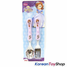 Disney Sofia the First Princess Stainless Steel Spoon Fork Set Kids / BPA Free