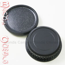 Camera Body + Rear Lens Cap for Pentax K mount PK K20D K10D K200D K100 K-5 7 r x