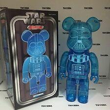 Medicom Star Wars 400% Darth Vader Holographic clear bearbrick Be@rbrick1p