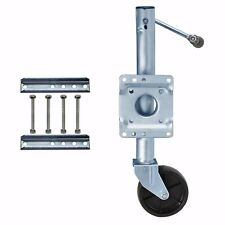 1000 LB Boat RV Swing Away Trailer Boat Jack Swivel Wheel corrosion resistance