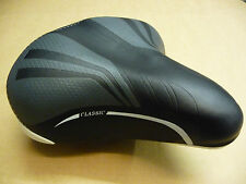 CLASSIC Cycle Bike Bicycle Sprung Comfort Unisex Saddle Seat Mens Ladies Comfy