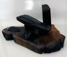 Bogwood Sculpture Handcarved DOLMEN & Celtic Monolith