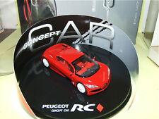 PEUGEOT RC Concept Car Prototype Rouge ATLAS 1:43
