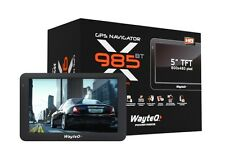 WayteQ x985BT GPS SATNAV VOITURE/CAMION CARTES EUROPE,BLUETOOTH,256MBRAM