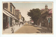 High Street Carnoustie Angus Early 1900's Scotland Old Postcard Postally Unused