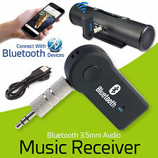 3.5mm AUX Wireless Bluetooth Car Music Stereo Audio Receiver Receiver Adapter UK