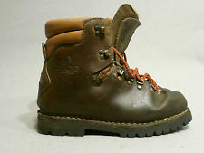 Vintage ALICO Italian Cowhide Camping Hiking Mountaineering  Boots Men's 9.5 M
