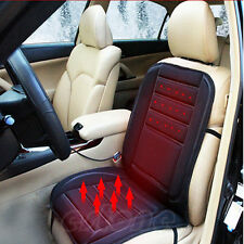 Winter Warmer 12V Vehicle Car Van Front Seat Hot Heater Heated Pad Cushion Cover