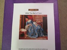 45% Off Golden Kite Counted X-stitch chart - #2694 The Ball of Yarn