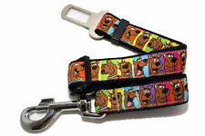 Pet Car Vehicle Seat Belt Scooby Doo, Australian Made Dog Seatbelt
