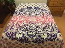 Indian Double Duvet Covers Quilt Cover Bed Bedding Sets Mandala Bedspread Throw