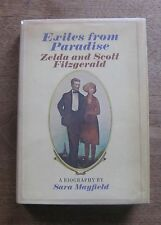 EXILES FROM PARADISE by Mayfield - 1st/1st HCDJ  1971 F. Scott Fitzgerald Zelda