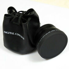 55mm 0.45x Wide Angle Lens Converter+Macro Lens For Canon Nikon 55mm Lens