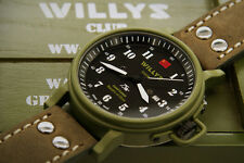 Jeep Willys Club watches Switzerland limited edition Chinese version China