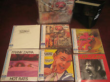 FRANK ZAPPA BURNT WEENIE JAPAN REPLICA'S EXACT TO ORIGINAL LP IN OBI CD Box Set