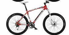 mountain bike kuma 27.2 acera altus freno a disco rosso misura 53 suntour forcel