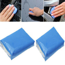 2pcs Magic Clay Bar Car Auto Cleaning Remove Marks Detailing Wash Cleaner Blue
