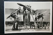 Vintage Aircraft Maintenance Photo Card   Imperial Airways  # VGC