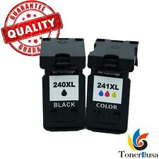 2 Pack PG 240XL CL 241XL Ink Cartridge for Canon PIXMA MG 3620 Printer