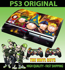 Playstation ps3 original South Park Bâton de vérité the peau & 2 pad skins