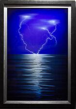"""DeRubeis: """"Lightning"""" Original Metal Artwork"""