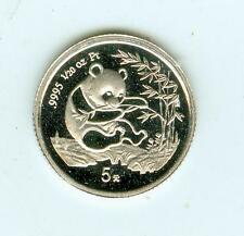 1994 Proof Platinum 5Y (1/20th Oz) China Panda
