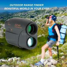 Outdoor 7X25 Rangefinder 600m Golf Hunting Telescope Distance Speed Tester O1K2