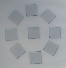 2pc Transparent Conductive Indium Tin Oxide ITO Glass 6ohm/sq 20x20x1.1mm BK1 JY