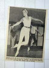 1956 Janet Buckel From Maidenhead Trains Six Hours A Day As Dancer