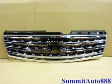 New Front Bumper Grille For 2006 2007 06 07 Infiniti M35 M45 Chrome Plastic