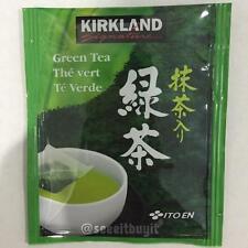 Kirkland Ito En Matcha Blend Green Tea 100% Japanese Tea Leaves 25 Bags