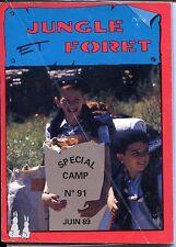 Revue Jungle et Forêt n°91 Juin 1989 - Louveteaux - Scouts Unitaires de France