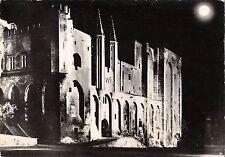 BR47996 Avignon palais des papes la nuit      France