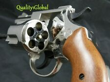 "NEW ITALY REAL WOOD & METAL 2.5"" MOVIE PROP Pistol Hand Gun.38 S&W SPECIAL CHIEF"