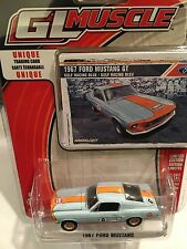 Greenlight MUSCLE  1967 Ford Mustang.  GULF OIL