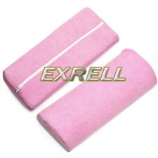 Poggiamano Cuscino Rosa per Nail Art Ricostruzione Unghie Smalto UV Gel ex1l