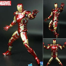 Marvel The Avengers Super Heroes Iron Man Ironman MK43 Figure Statue 16cm No Box