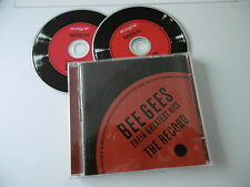 THE BEE GEES GREATEST HITS THE RECORD 2 CD STAYIN' ALIVE TRAGEDY NIGHT FEVER