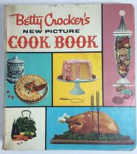 1961 Vintage Betty Crocker's New Picture Cookbook 1st Edition 2nd Printing