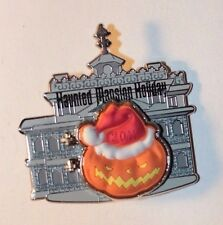 Disney DLR Nightmare Before Christmas 2011 Pin Haunted Mansion Holiday Logo
