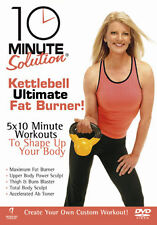 10 MINUTE SOLUTION - KETTLEBALL ULTIMATE FAT BURNER - DVD - REGION 2 UK