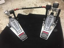 DW 9000 Series Double Bass Drum Pedal with eXtended Footboard LN