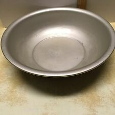 """Vintage Wear Ever Aluminum Bowl 11 1/2"""" by 3"""" No.5030 Metal USA"""